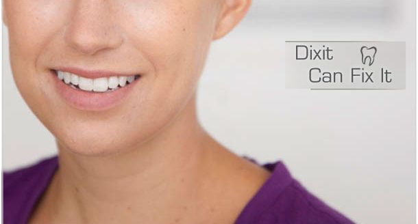Dixit Can Fix It - Smiling woman